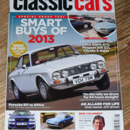 Classic Cars Magazine August 2013