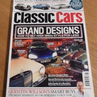 Classic Cars Magazine August 2014