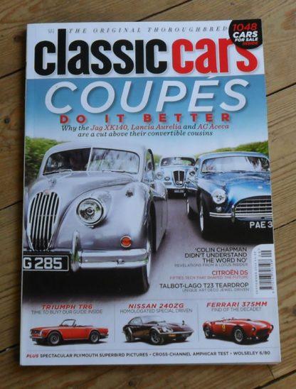 Classic Cars Magazine September 2012