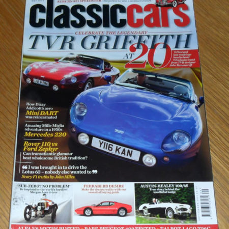 Classic Cars Magazine September 2011