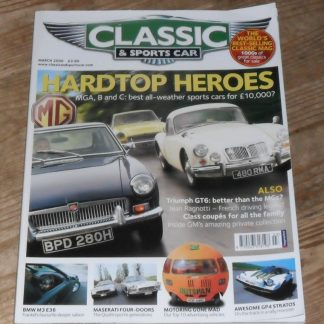 Classic and Sports Car Magazine March 2006