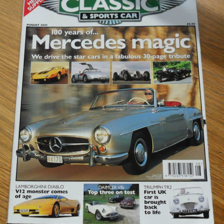 Classic and Sports Car Magazine August 2001