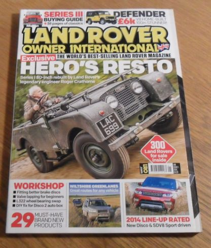 Land Rover Owner International January 2014