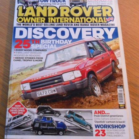 Land Rover Owner International Spring 2014