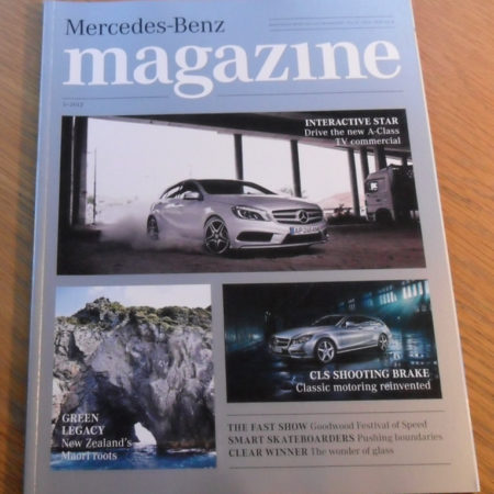 Mercedes-Benz Magazine issue 3, 2012