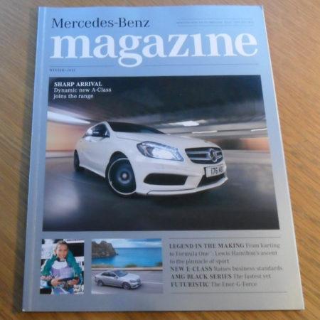Mercedes-Benz Magazine, Winter 2013