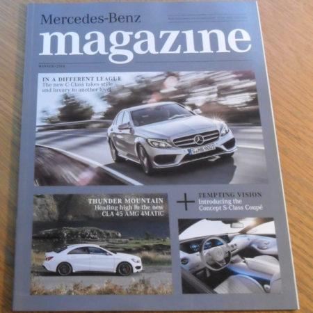 Mercedes-Benz Magazine, Winter 2014