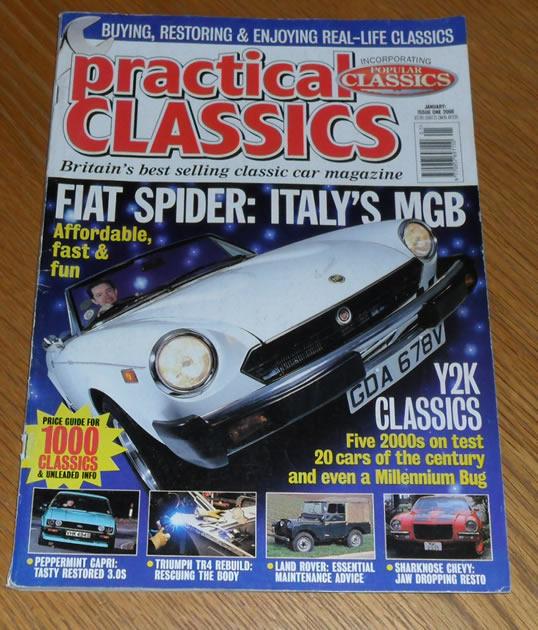 Practical Classics Magazine January 2000