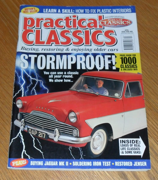 Practical Classics Magazine April 1999