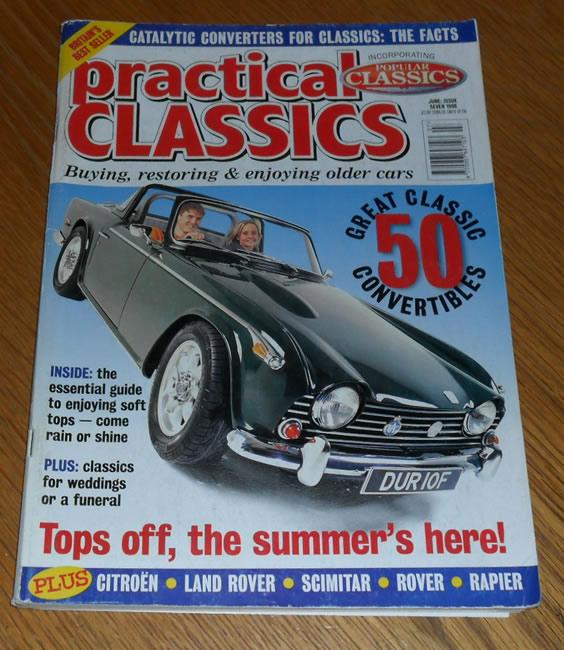 Practical Classics Magazine June 1998