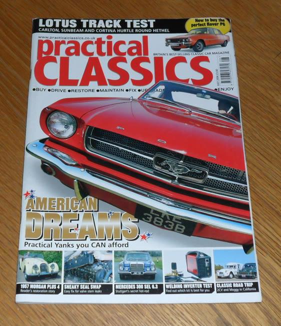 Practical Classics Magazine July 2006