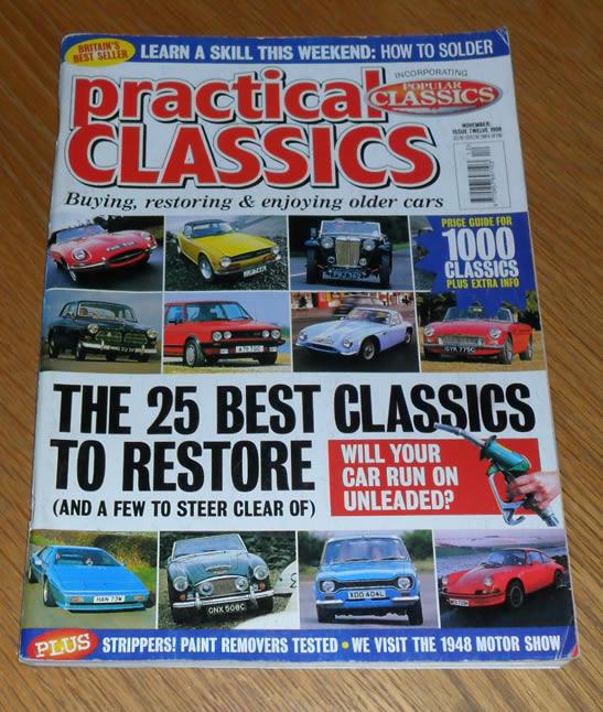 Practical Classics Magazine November 1998