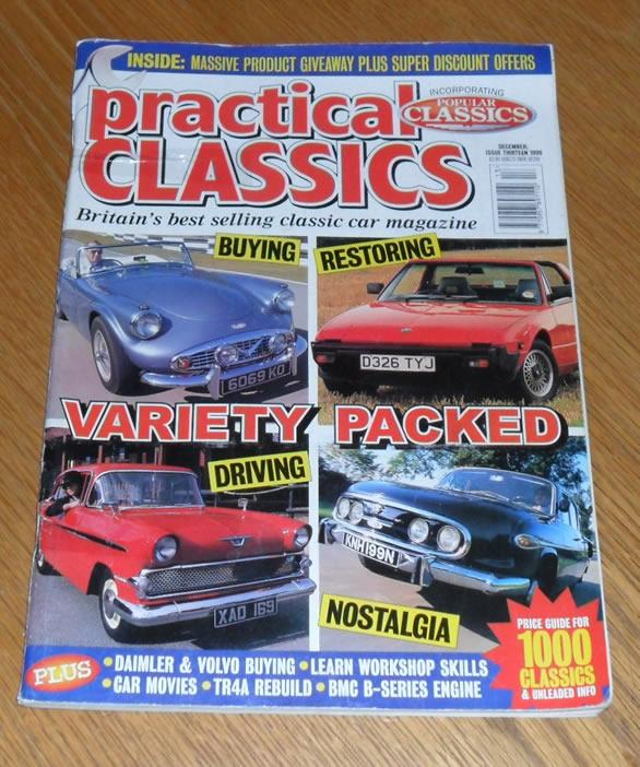 Practical Classics Magazine December 1999