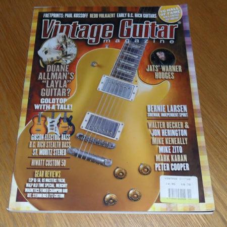 Vintage Guitar November 2008