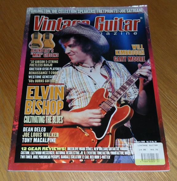 Vintage Guitar February 2009