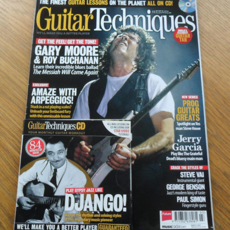Guitar Techniques Magazine March 2013 Issue 214