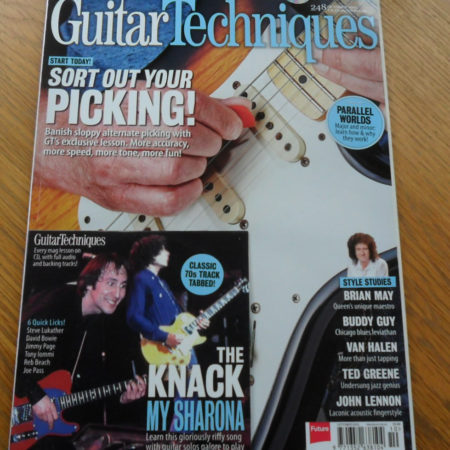 Guitar Techniques Magazine October 2015 Issue 248