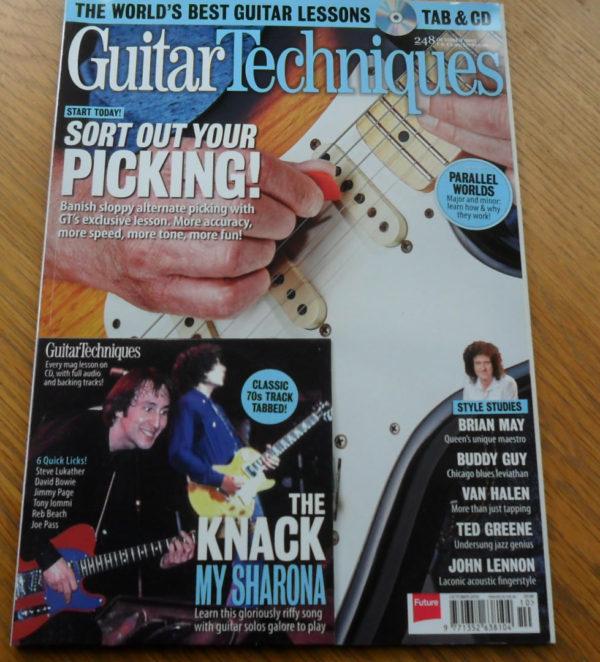 Guitar Techniques Magazine October 2015 Issue 248