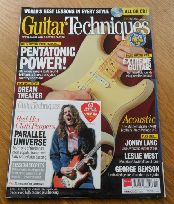 Guitar Techniques Magazine May 2014 Issue 230