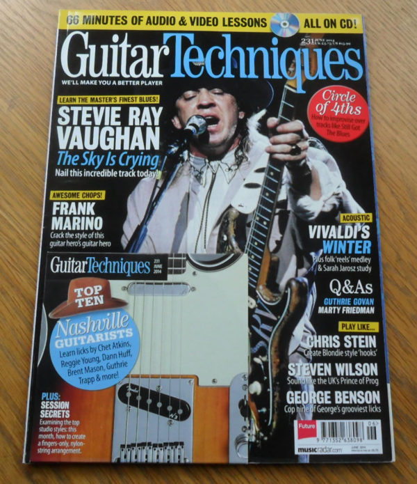 Guitar Techniques Magazine June 2014 Issue 231