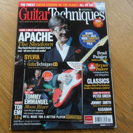 Guitar Techniques Magazine October 2012 Issue 209