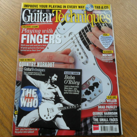 Guitar Techniques Magazine April 2015 Issue 241