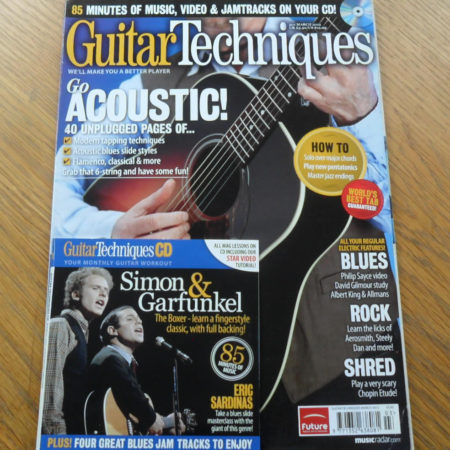 Guitar Techniques Magazine March 2012 Issue 201