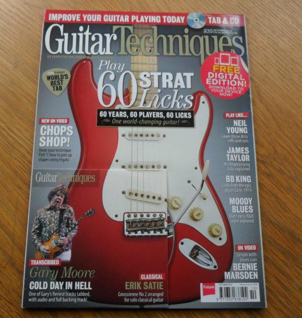Guitar Techniques Magazine October 2014 Issue 235
