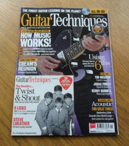 Guitar Techniques Magazine November 2013 Issue 223