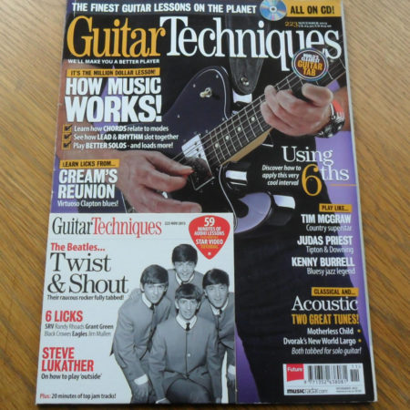 Guitar Techniques Magazine November 2013 Issue 223