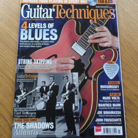 Guitar Techniques Magazine March 2015 Issue 240