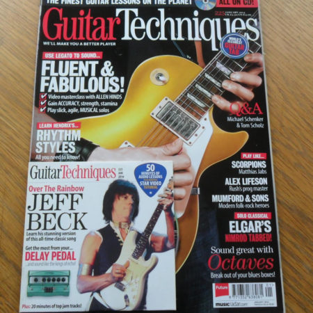Guitar Techniques Magazine January 2014 Issue 225