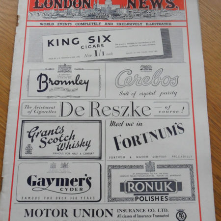 London Illustrated News February 16th 1946