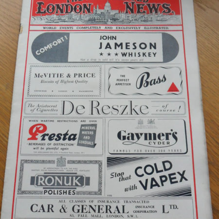 London Illustrated News February 23rd 1946