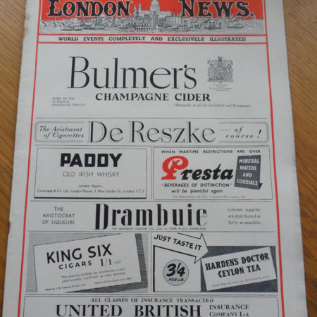 London Illustrated News April 13th 1946