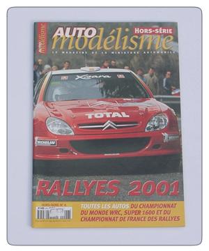 Auto Modelisme Rally 2001 Car Guide