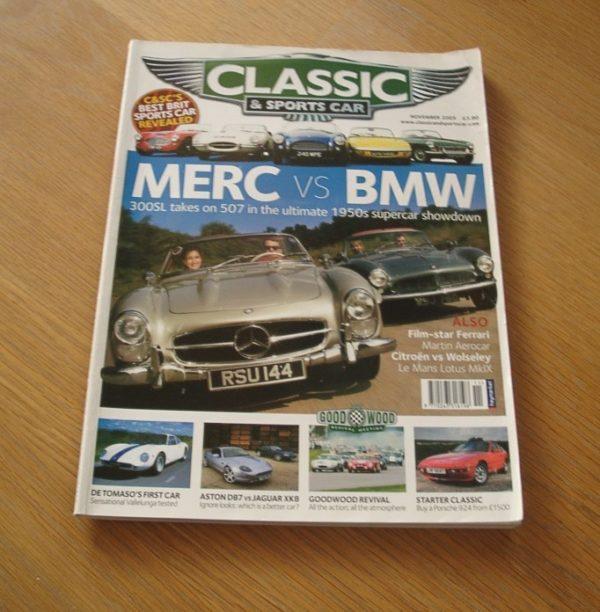 Classic and Sports Car Magazine November 2005