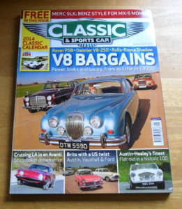Classic and Sports Car Magazine January 2014