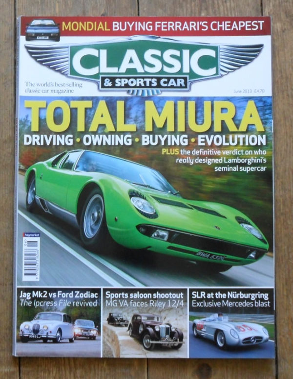 Classic and Sports Car Magazine June 2013