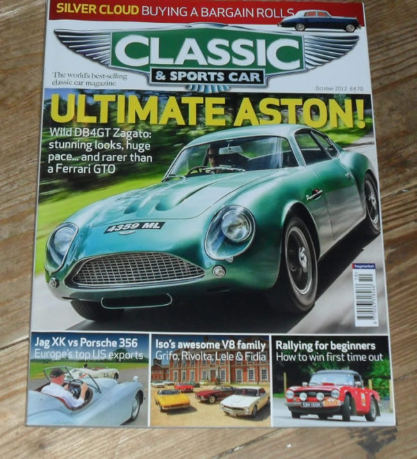 Classic and Sports Car Magazine October 2012