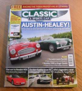 Classic and Sports Car Magazine October 2014