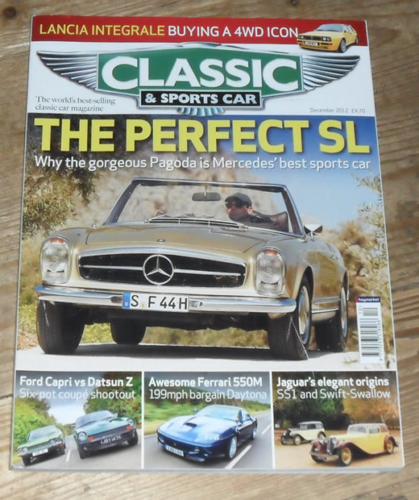 Classic and Sports Car Magazine December 2012