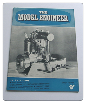 Model Engineer Vol 108 #2704 March 19th 1953