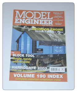 Model Engineer Vol 191 #4200 25th July 2003