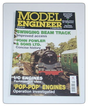 Model Engineer Vol 192 #4214 6th February 2004