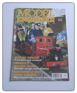 Model Engineer Vol 186 #4137 January 12th 2001