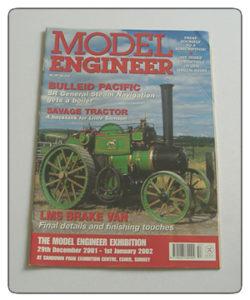Model Engineer Vol 187 #4157 2001