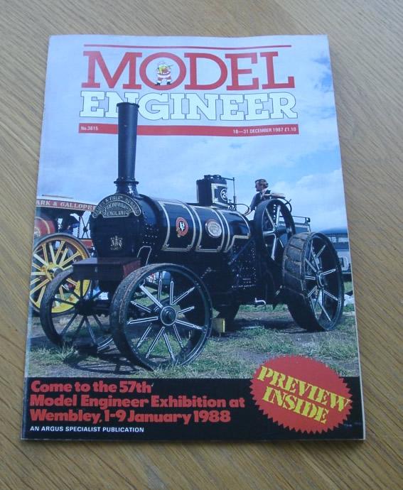 Model Engineer Vol 159 #3815 18th December 1987