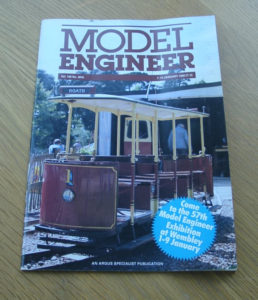 Model Engineer Vol 160 #3816 1st January 1988