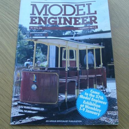 Model Engineer Vol 160 #3816 1st January 1988